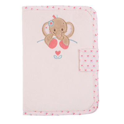 Protège carnet de santé charlotte et rose Nattou