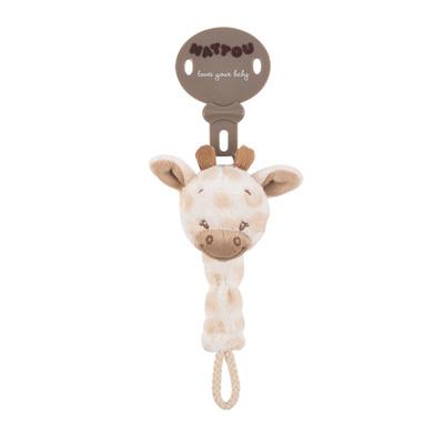 Attache sucette la girafe charlotte Nattou