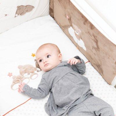 Couverture bébé supersoft 100x75cm mia et basile Nattou