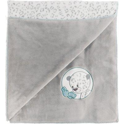 Couverture bébé supersoft 100x75 cm lea, loulou & hippolyte Nattou