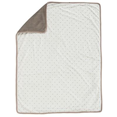Couverture bébé tricot 75x100cm tom, max et noa Nattou