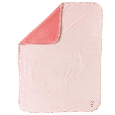 Couverture bébé supersoft 75x100cm lapidou rose Nattou