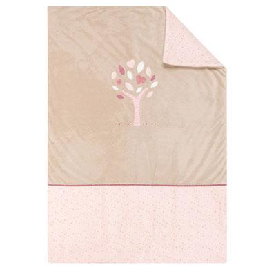 Couverture bébé 100x75 cm lili, jade et nina Nattou