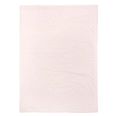 Couverture bébé 100x75cm pure rose Nattou