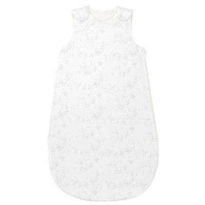 Gigoteuse 70 cm satin coton blanc pure gris Nattou
