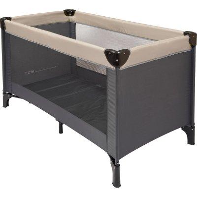 lit parapluie gris sable de nattou sur allob b. Black Bedroom Furniture Sets. Home Design Ideas