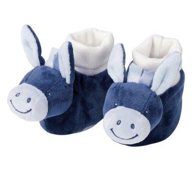Chaussons bébé l'âne alex Nattou