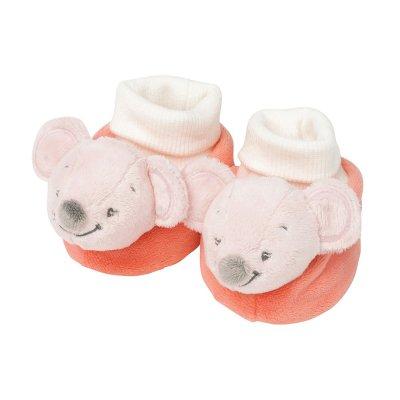 Chaussons bébé valentine la souris Nattou