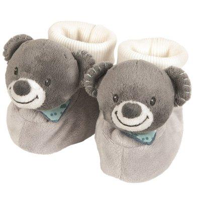 Chaussons bébé l'ours jules Nattou
