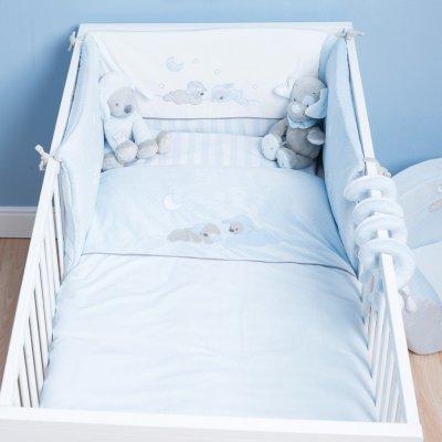 Tour de lit bébé sam et toby Nattou