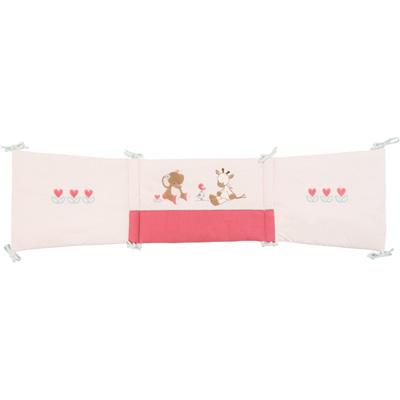 Tour de lit charlotte et rose Nattou