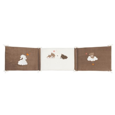 Tour de lit bébé mia et basile Nattou