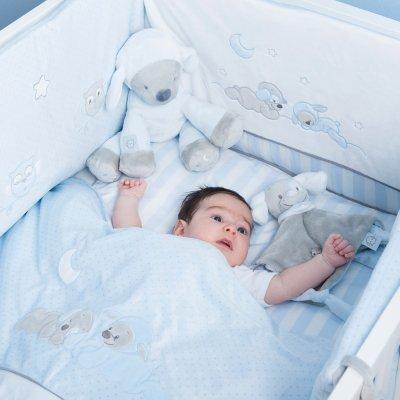 Couverture bébé 100x135cm sam et toby Nattou