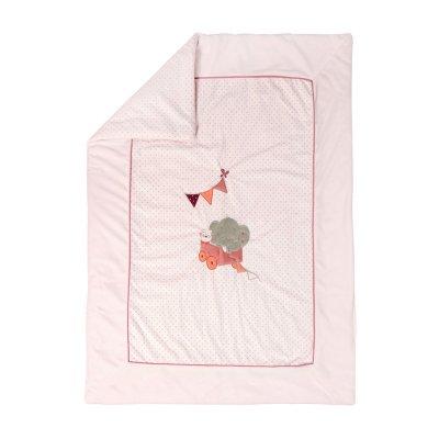 Couverture bébé 100x75 cm valentine et adèle Nattou