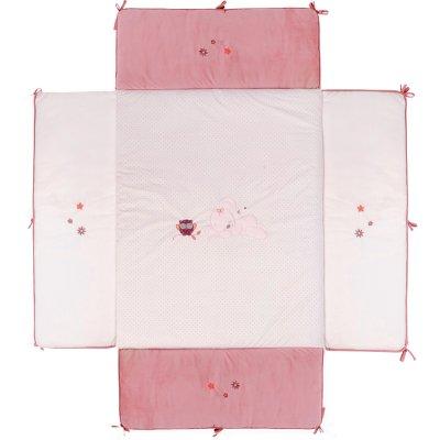 Tapis de parc avec bords 95x75cm valentine et adèle Nattou