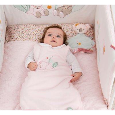 Couverture bébé 100x135cm iris et lali Nattou