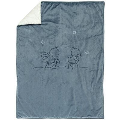 Couverture bébé 75x100cm jack, jules & nestor Nattou