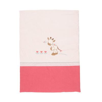 Couverture 75 x 100 cm charlotte et rose Nattou