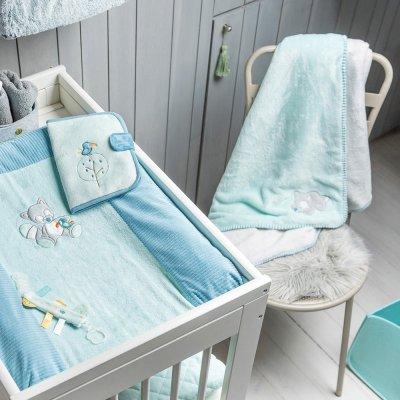 Couverture bébé supersoft 100 x 75 cm tim et tiloo Nattou