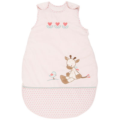 Gigoteuse bébé charlotte et rose 70 cm Nattou
