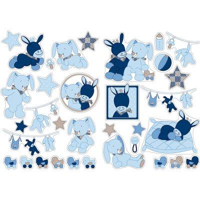 Stickers décoratifs alex et bibou Nattou