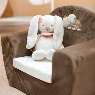 Sofa mia et basile Nattou