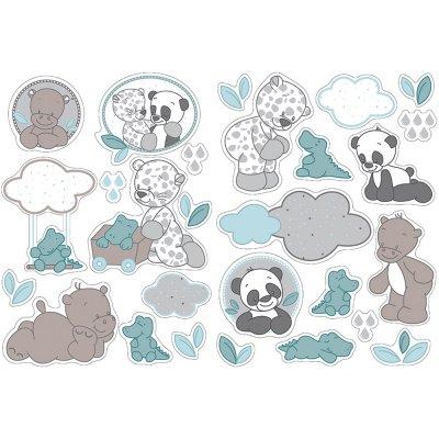 Stickers décoratifs lea, loulou & hippolyte Nattou