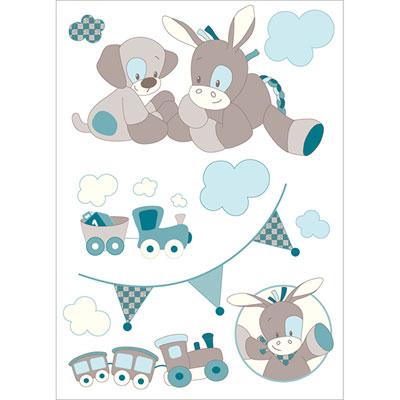 Stickers gaston & cyril Nattou
