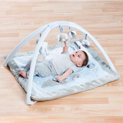 Tapis d'éveil bébé avec arches sam et toby Nattou