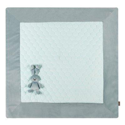 Tapis de parc lapidou 100x 100 cm vert/menthe Nattou