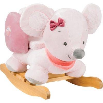 Bascule valentine la souris Nattou