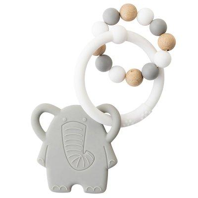 Anneau de dentition silicone éléphant Nattou