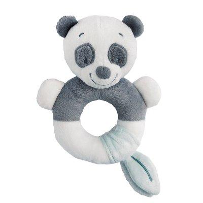 Hochet anneau panda loulou Nattou