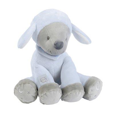 Peluche bébé sam le mouton 28cm Nattou