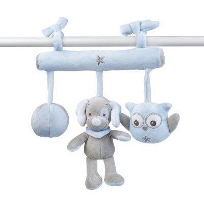 Jouet de lit bébé maxi toy sam et toby Nattou