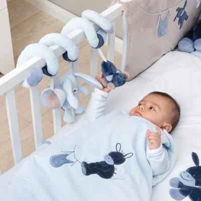 Jouets de lit bébé spirale alex et bibou Nattou