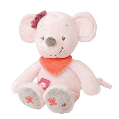 Peluche bébé valentine la souris 28 cm Nattou