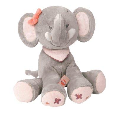 Peluche bébé adèle l'elephant 28 cm Nattou