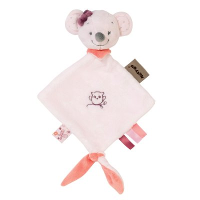 Mini doudou valentine la souris Nattou