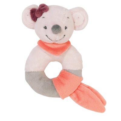 Hochet anneau valentine la souris Nattou