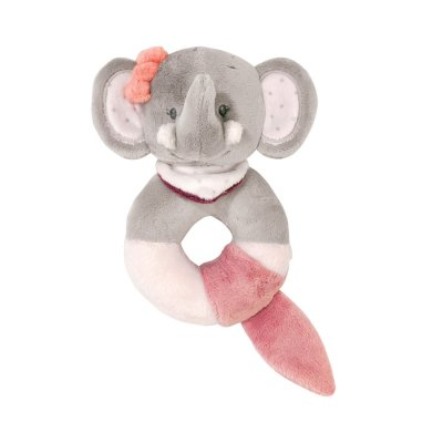 Hochet anneau adèle l'elephant Nattou