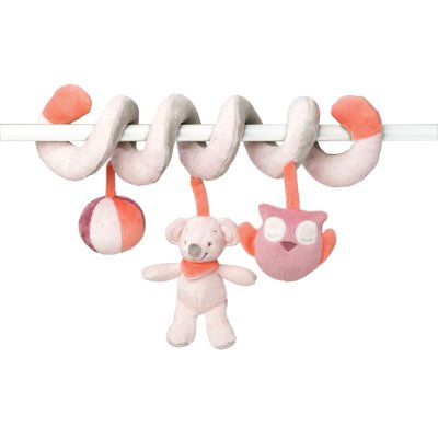 Jouet de lit bébé spirale valentine et adèle Nattou