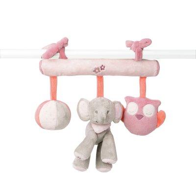 Jouet de lit bébé maxi toy valentine et adèle Nattou