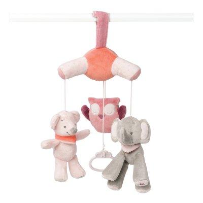 Mini mobile bébé valentine et adèle Nattou