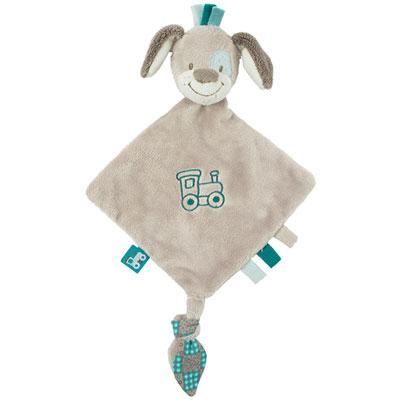 Doudou mini chien cyril Nattou