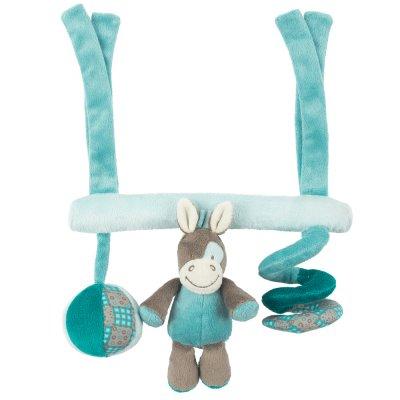 Jouets de lit bébé maxi toy cheval gaston Nattou