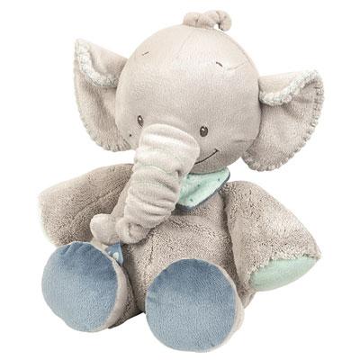 Peluche bébé l'élephant jack Nattou