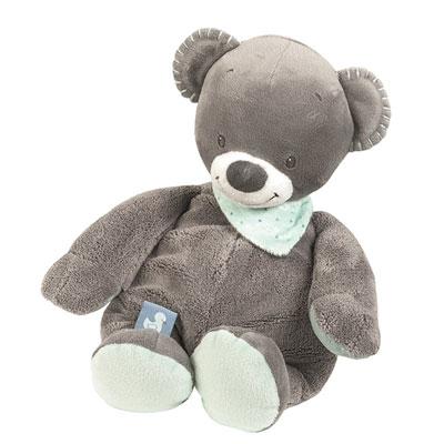 Peluche bébé l'ours jules Nattou