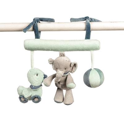 Jouet de lit maxi toy jack, jules et neston Nattou