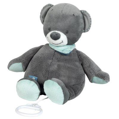 Peluche bébé musicale l'ours jules Nattou
